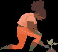 picto - jardinière
