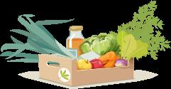 picto - caissette de légumes
