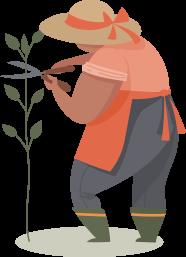 Picto jardiner