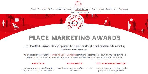 Prix décerné par le Place marketing awards