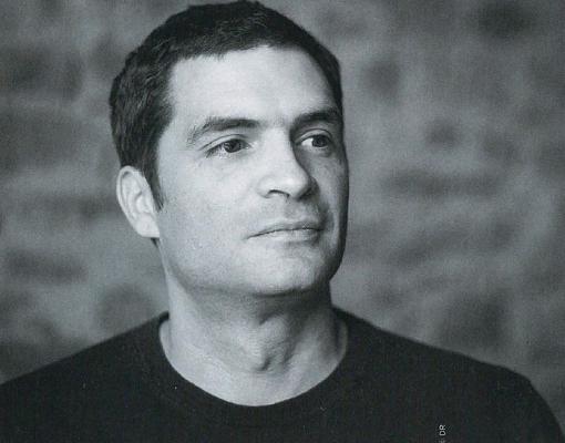 Photo noir et blanc de Vincent Benoit cogérant scop laëtis